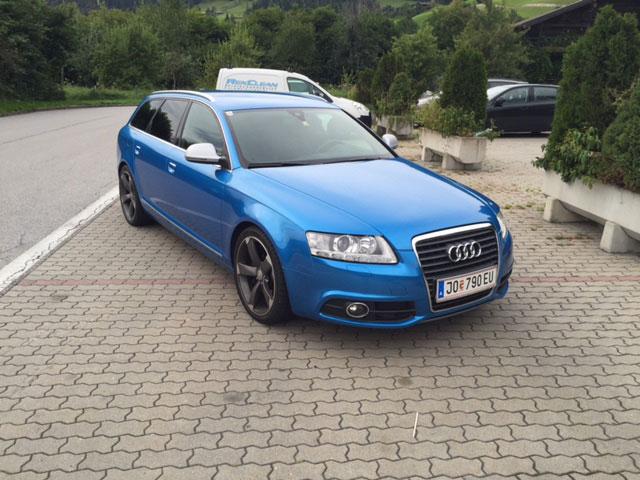 Audi Fahrzeugbeklebung