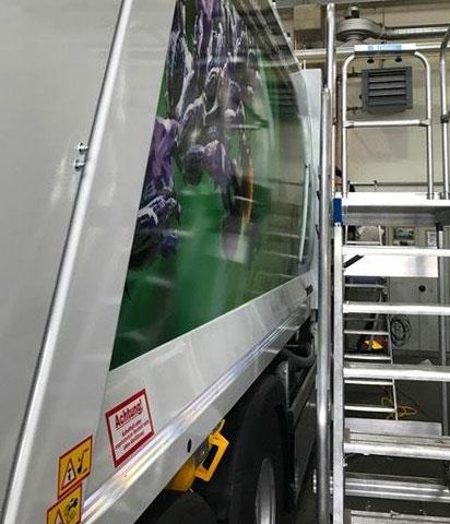 Werbebeschriftung Firmenfahrzeuge Chameleon Wrapping Company Eben im Pongau Salzburg