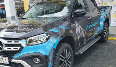 Folierung - Fahrzeugfolierungen - Auto folieren lassen Salzburg