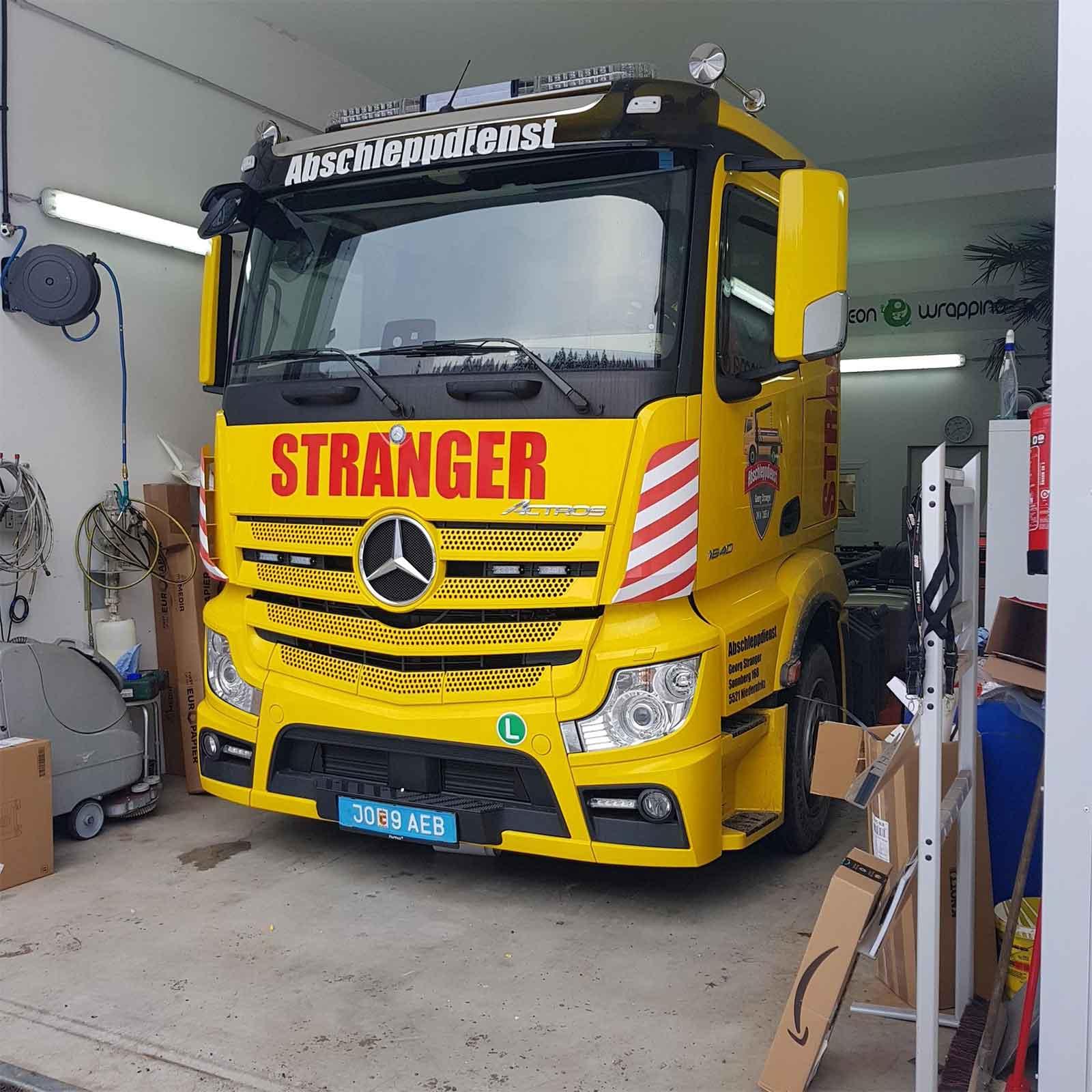 Chameleon Wrapping Company Eben im Pongau Salzburg Folierung LKW