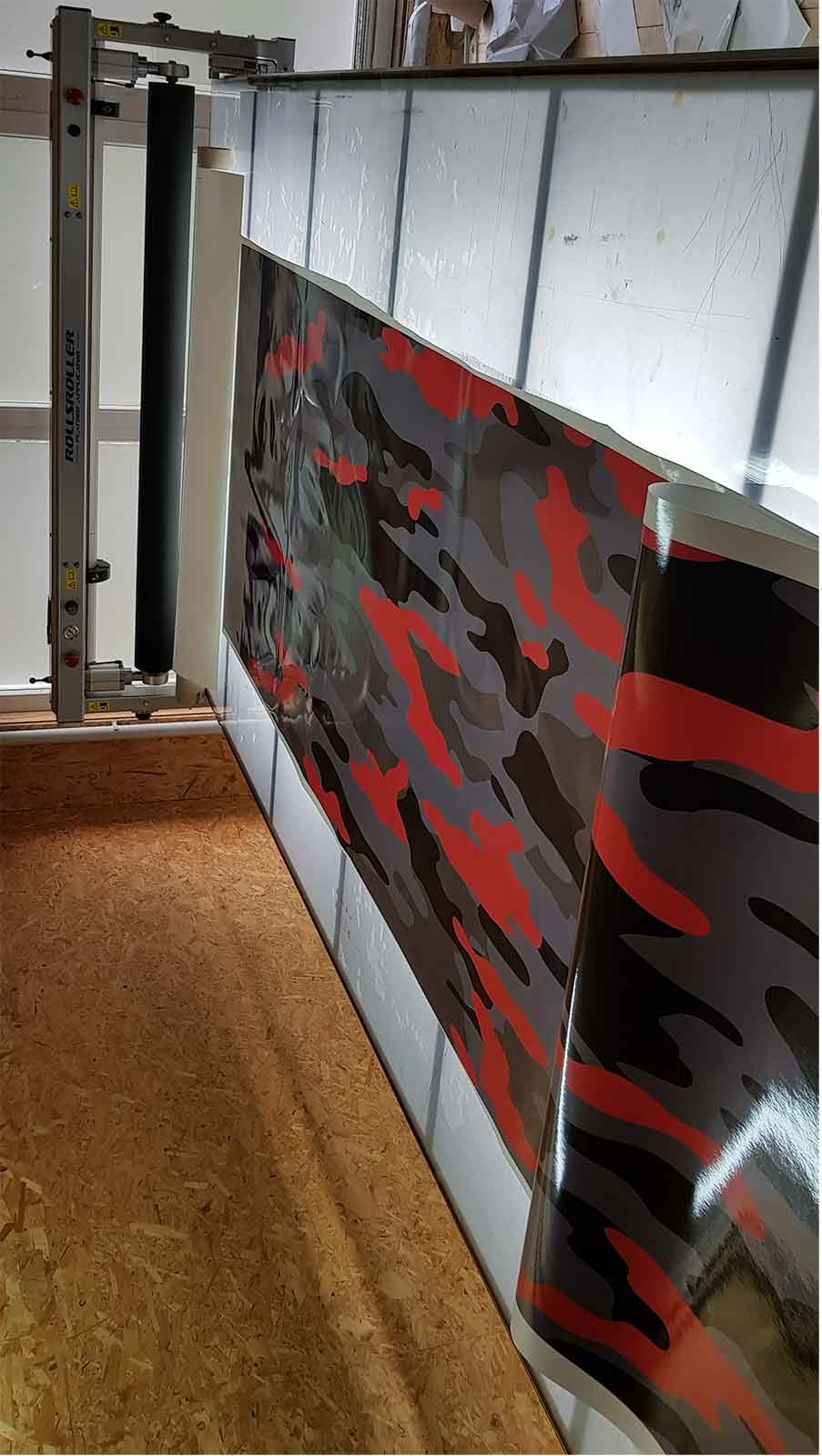 Folien Digitaldruck Chameleon Wrapping Company Eben im Pongau Salzburg