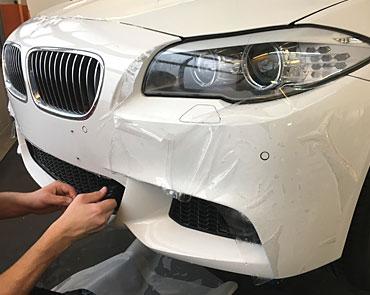 Steinschlagschutzfolie - BMW