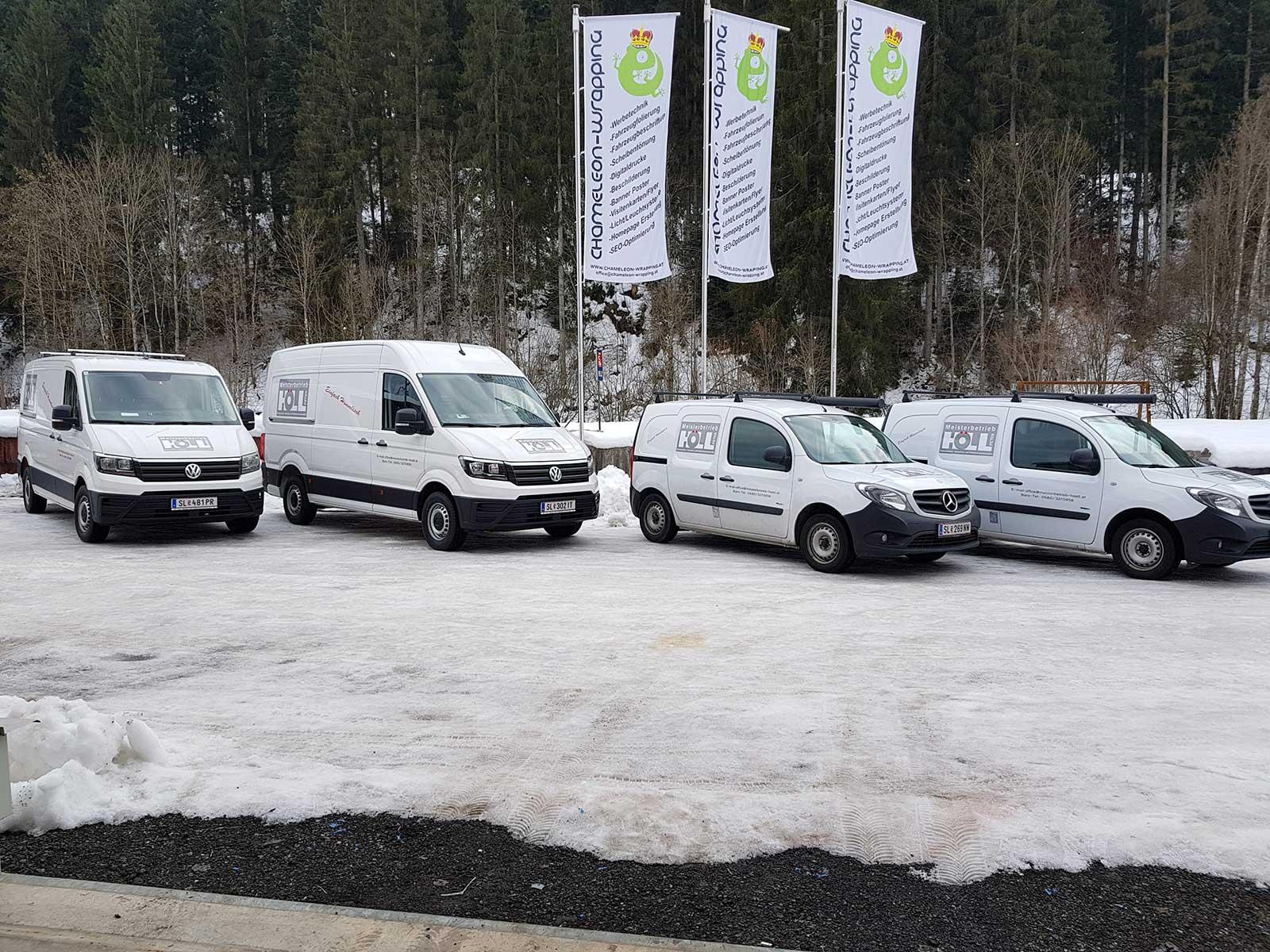 Firmenwagen Beschriften lassen Salzburg