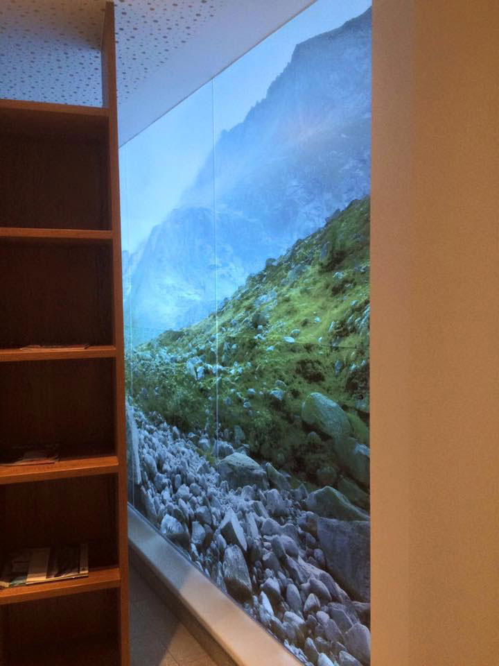 Chameleon Wrapping Company Eben im Pongau Salzburg Glasdekor - Design Folienbeklebung
