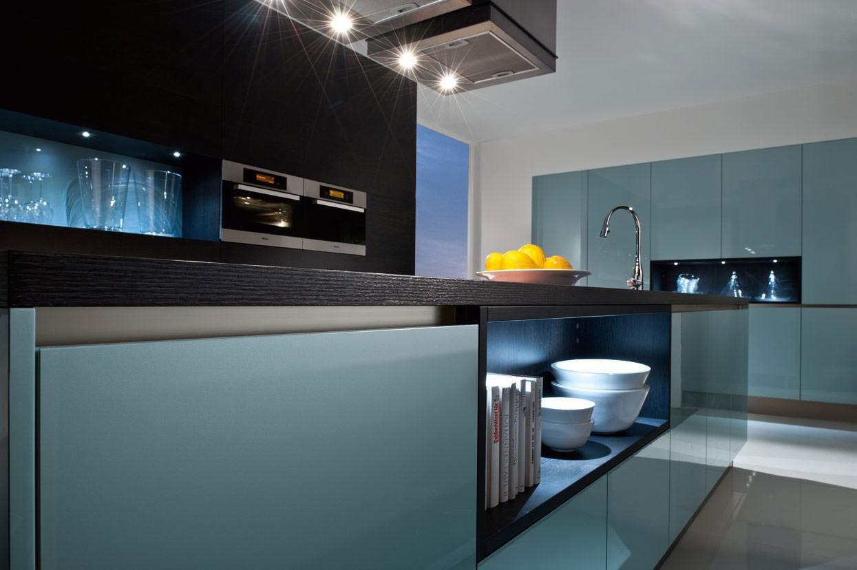 Folienbeklebung einer Küche