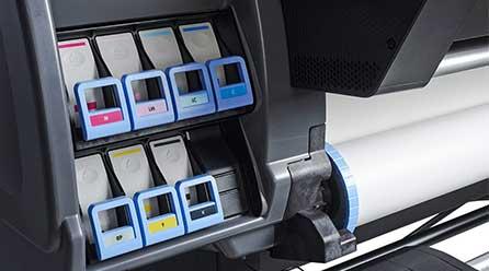 Geräte für den Digitaldruck der Chameleon Wrapping Company in Eben im Pongau - Salzburg