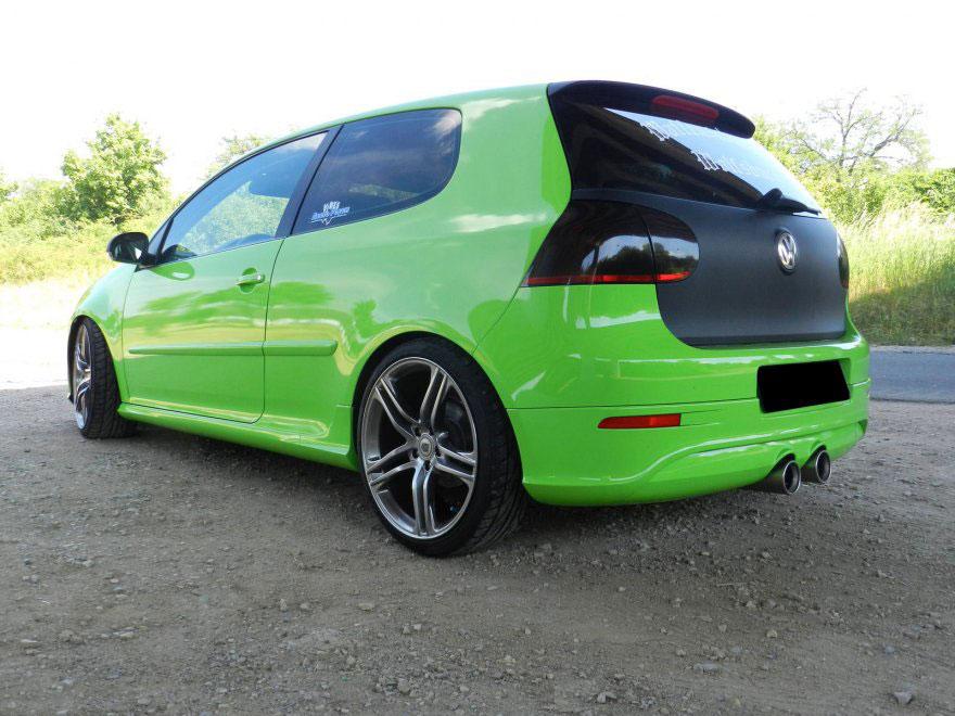 Folierung Golf Sonderfarbe