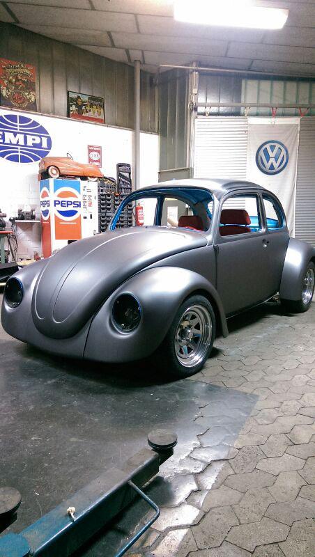 Fahrzeugbeklebung VW-Kaefer