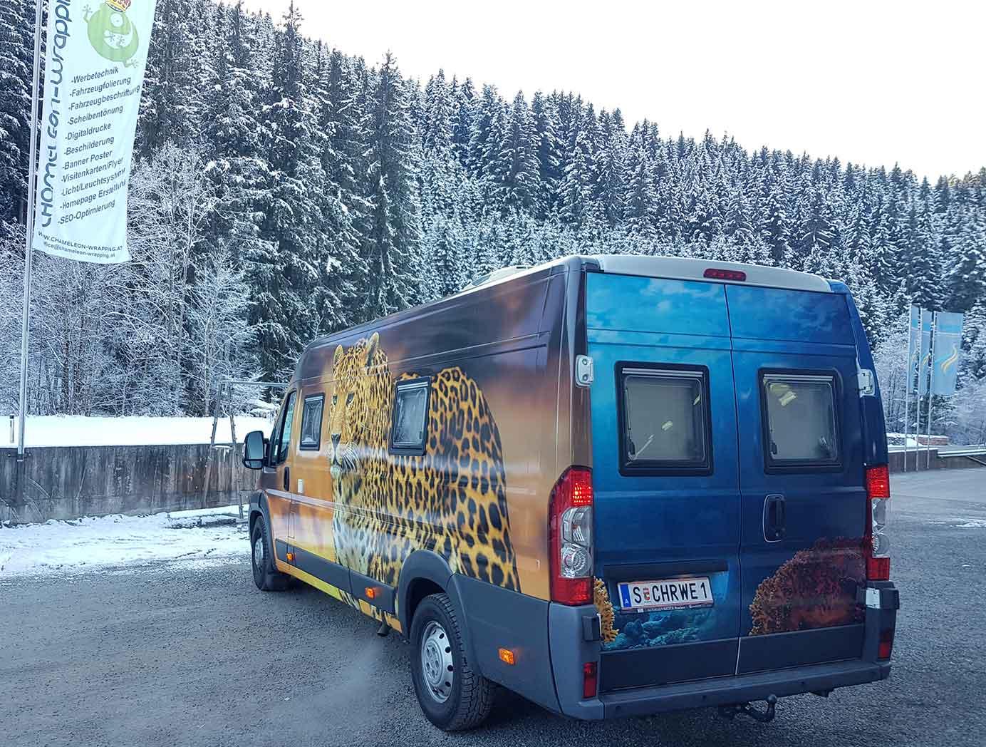 Wohnmobil Folierung Salzburg