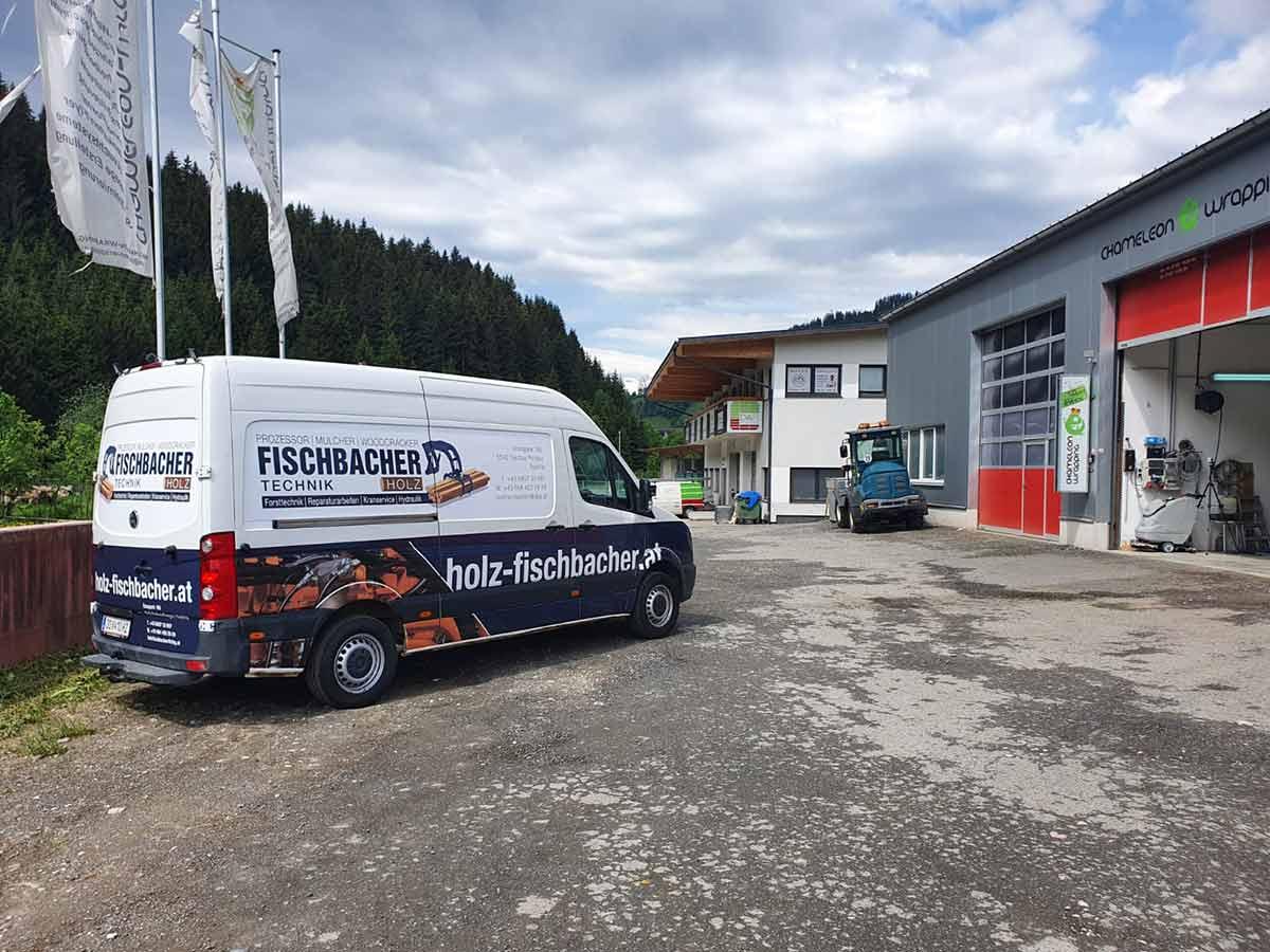 Beklebung Lieferfahrzeug Salzburg