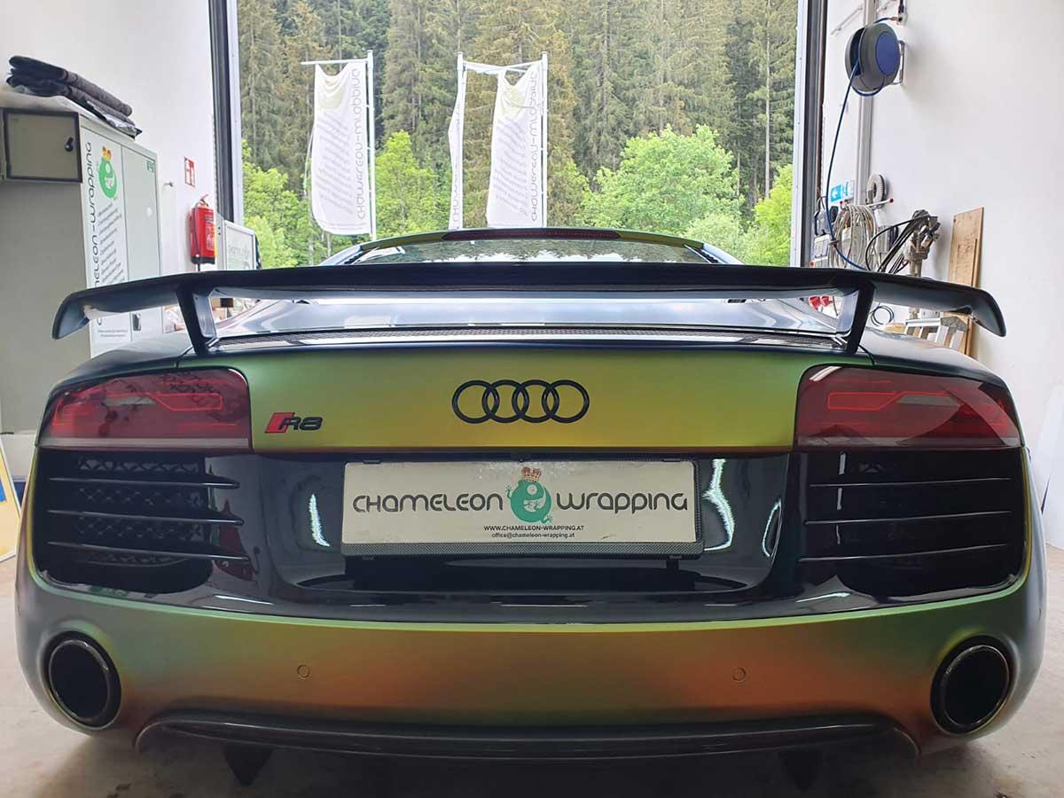 Fahrzeug Folierung Audi