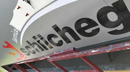 Firmenschilder - Montage service von Chameleon Wrapping Company Salzburg - Eben im Pongau