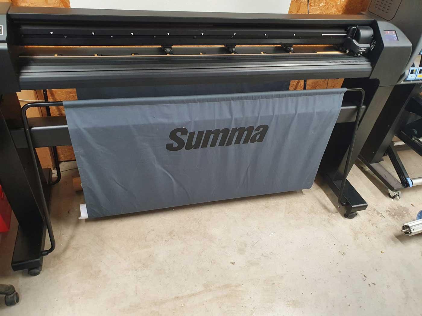Digitaldruck GErät der Werbetechnik Firma Chameleon Wrapping Comany Salzburg
